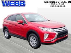 New 2019 Mitsubishi Eclipse Cross ES SUV JA4AT3AAXKZ008653 for sale in Merrillville, IN at Webb Mitsubishi