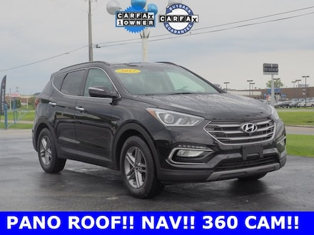 Used 2017 Hyundai Santa Fe Sport 2.4 Base SUV for sale in Merrillville, IN at Webb Mitsubishi
