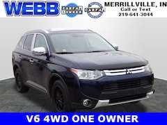 Used 2015 Mitsubishi Outlander GT SUV JA4JZ4AX0FZ003816 for sale in Merrillville, IN at Webb Mitsubishi