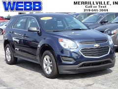 Used 2017 Chevrolet Equinox LS SUV 2GNALBEK5H1597896 for sale in Merrillville, IN at Webb Mitsubishi