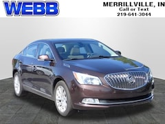 Used 2016 Buick Lacrosse Leather Group Sedan 1G4GB5G3XGF150416 for sale in Merrillville, IN at Webb Mitsubishi
