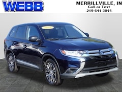 Used 2018 Mitsubishi Outlander ES SUV JA4AZ3A36JZ058304 for sale in Merrillville, IN at Webb Mitsubishi