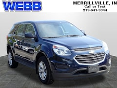 Used 2017 Chevrolet Equinox LS SUV 2GNFLEEK5H6236808 for sale in Merrillville, IN at Webb Mitsubishi