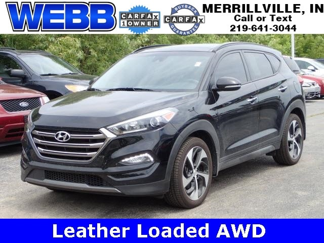 Used 2016 Hyundai Tucson Limited SUV for sale in Merrillville, IN at Webb Mitsubishi