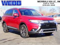 New 2019 Mitsubishi Outlander SEL SEL S-AWC for sale in Merrillville, IN at Webb Mitsubishi