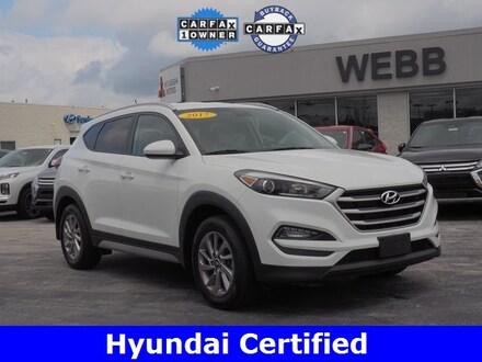 Used 2017 Hyundai Tucson SE SUV for sale in Merrillville, IN at Webb Mitsubishi