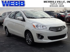 New 2019 Mitsubishi Mirage G4 SE SE CVT ML32F4FJ5KHF06304 for sale in Merrillville, IN at Webb Mitsubishi