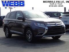Used 2016 Mitsubishi Outlander SE SUV JA4AD3A39GZ047949 for sale in Merrillville, IN at Webb Mitsubishi
