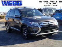 Used 2016 Mitsubishi Outlander SEL SUV JA4AD3A35GZ049620 for sale in Merrillville, IN at Webb Mitsubishi
