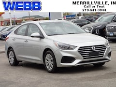 Used 2019 Hyundai Accent SE Sedan 3KPC24A38KE080861 for sale in Merrillville, IN at Webb Mitsubishi