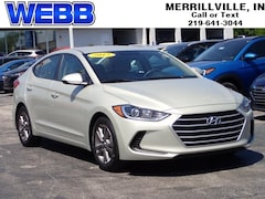 Used 2017 Hyundai Elantra SE Sedan 5NPD84LF4HH010658 for sale in Merrillville, IN at Webb Mitsubishi