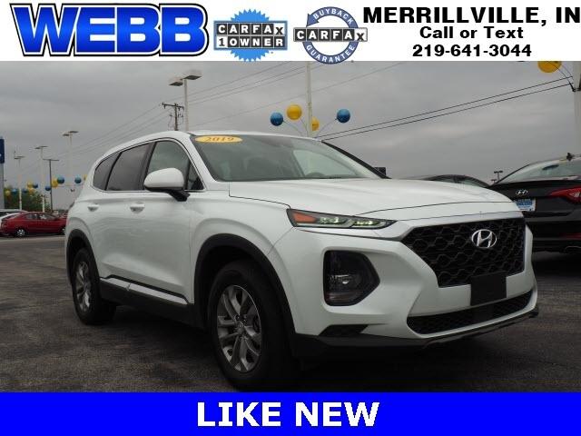 Used 2019 Hyundai Santa Fe SE 2.4 SUV for sale in Merrillville, IN at Webb Mitsubishi