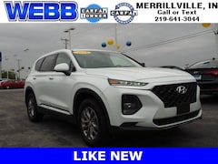 Used 2019 Hyundai Santa Fe SE 2.4 SUV 5NMS23AD0KH010620 for sale in Merrillville, IN at Webb Mitsubishi
