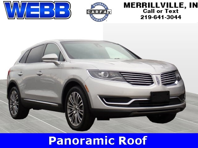 Used 2016 Lincoln MKX Reserve SUV for sale in Merrillville, IN at Webb Mitsubishi