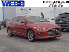 Used 2017 Hyundai Elantra Limited Sedan 5NPD84LF9HH191613 for sale in Merrillville, IN at Webb Mitsubishi