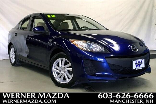 2012 Mazda Mazda3 i Grand Touring SKYACTIV Sedan
