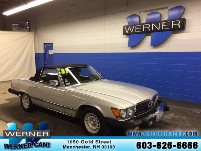 1981 Mercedes-Benz 380 380SL Convertible