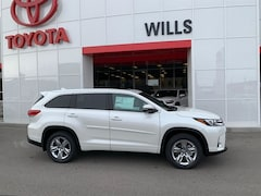 New 2019 Toyota Highlander Limited V6 SUV for sale in Twin Falls ID