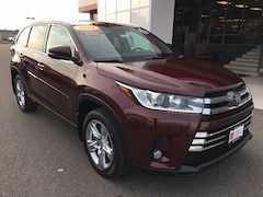 Certified Used 2018 Toyota Highlander Limited SUV for sale in Twin Falls ID