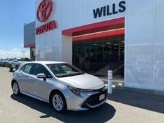 New 2019 Toyota Corolla Hatchback SE Hatchback for sale in Twin Falls ID