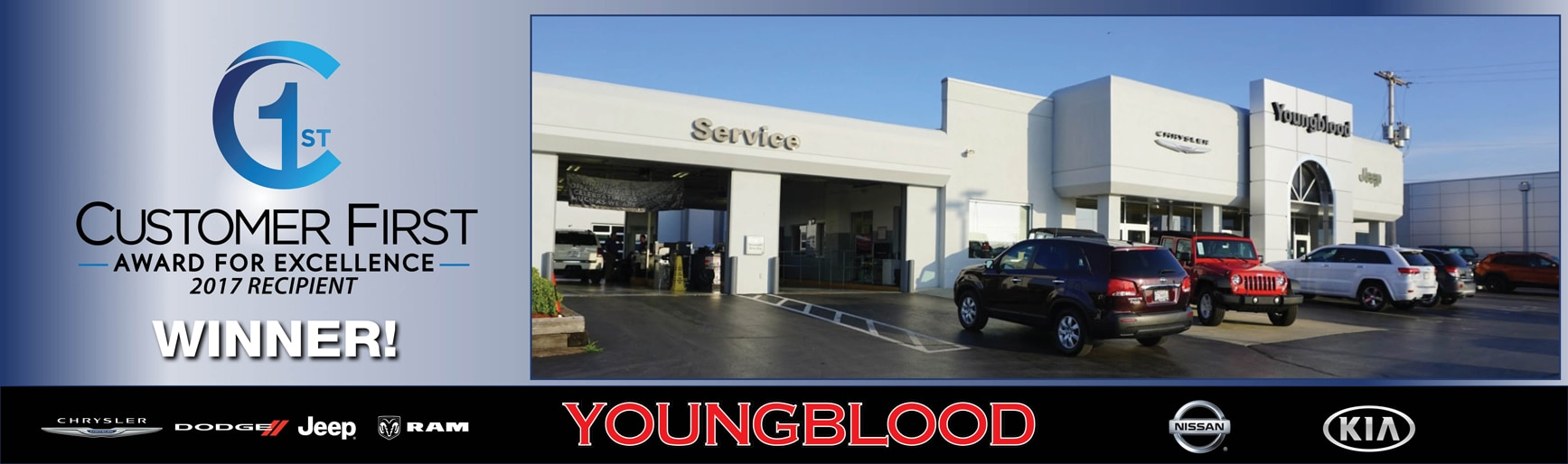 Jeep Dealership Springfield Mo >> Youngblood Auto Group | New Kia, Jeep, Dodge, Chrysler, Nissan, Ram dealership in Springfield ...