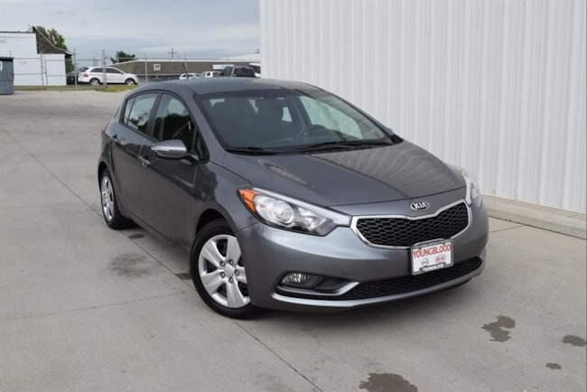 Used 2016 Kia Forte LX FWD Hatchback in Springfield, MO