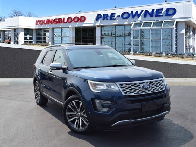 Used 2017 Ford Explorer Platinum SUV in Springfield, MO