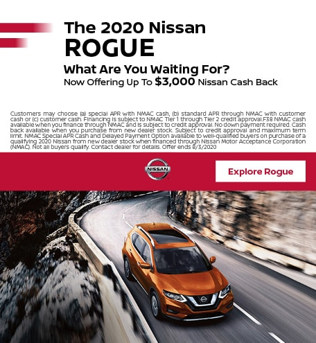 The 2020 Nissan Rogue