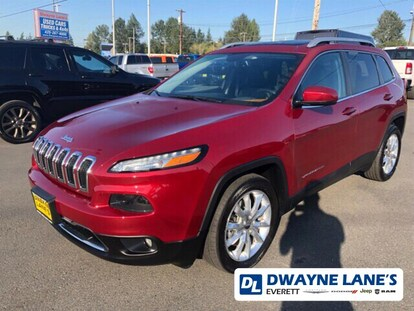 Used 2016 Jeep Cherokee Limited FWD For Sale | Everett WA