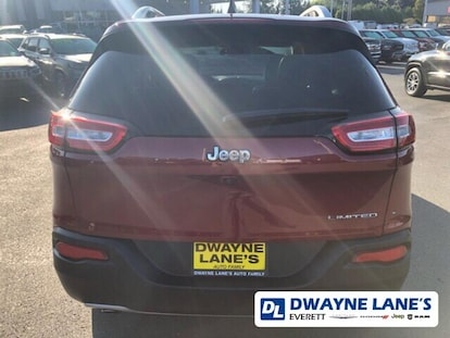 Used 2016 Jeep Cherokee Limited FWD For Sale   Everett WA