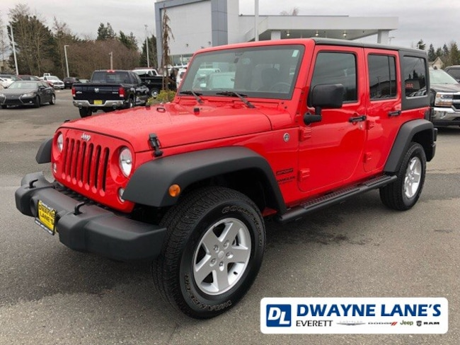 2015 Jeep Wrangler Unlimited Sport 4WD SUV