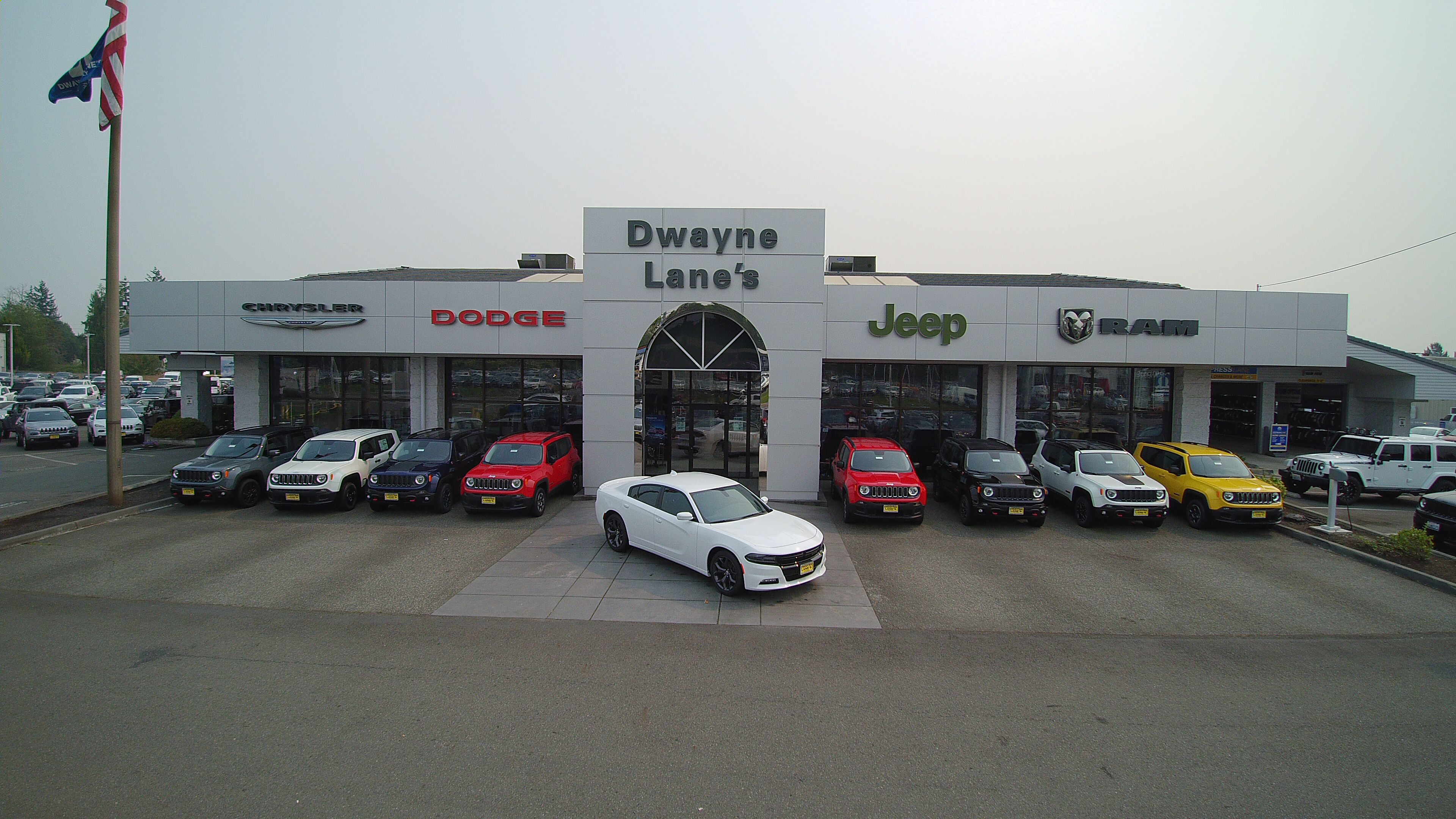 Chrysler Jeep Dodge Ram Dealership Dwayne Lanes CJDR - Chrysler jeep dodge dealer
