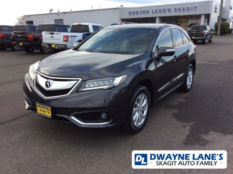 Pre-Owned 2016 Acura RDX w/Technology Package SUV for sale in Burlington, WA