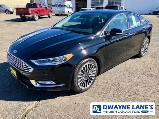 2017 Ford Fusion Titanium Sedan