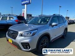 New 2020 Subaru Forester Sport SUV LH450604 for sale in Burlington, WA
