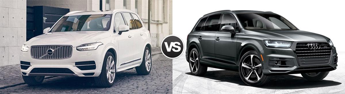 Compare 2019 Volvo Xc90 Vs 2019 Audi Q7 Chamblee Ga