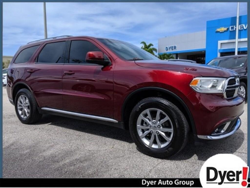 Vero Beach Dodge >> Used 2018 Dodge Durango Sxt For Sale In Vero Beach Fl