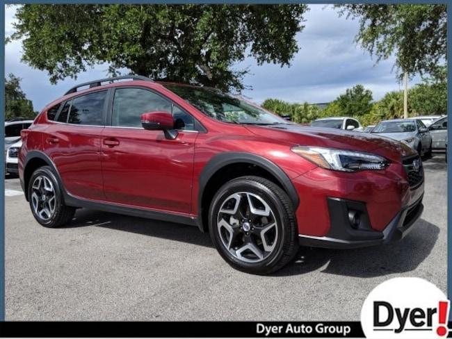 Certified Pre Owned 2018 Subaru Crosstrek Limited SUV Vero Beach
