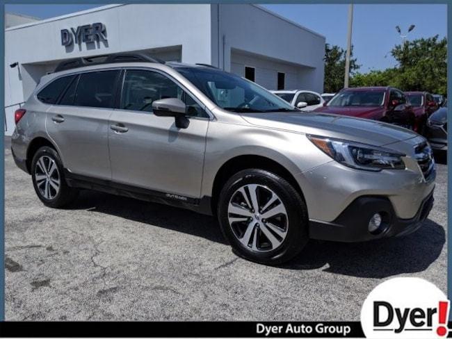 Certified Pre Owned 2018 Subaru Outback Limited SUV Vero Beach