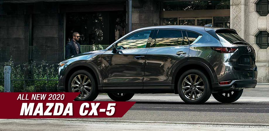 exterior of the new 2020 mazda cx-5