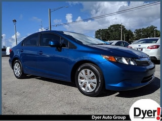Used 2012 Honda Civic LX Sedan under $15,000 for Sale in Vero Beach