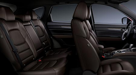 interior seating of the new 2020 mazda cx-5