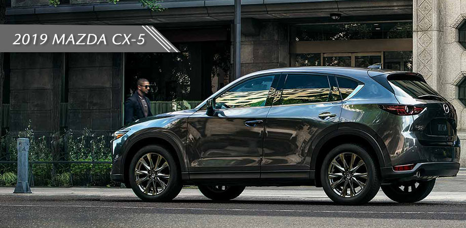the exterior view of the 2019 mazda cx-5 in south florida