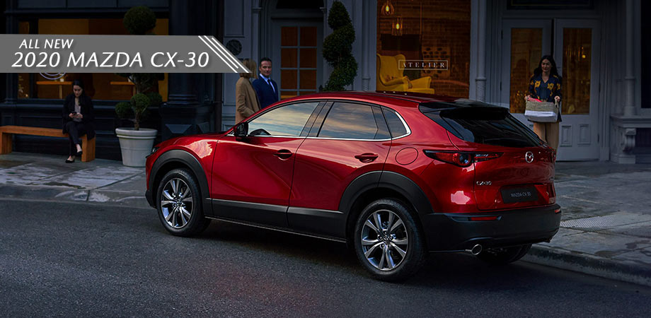 red new 2020 mazda cx30