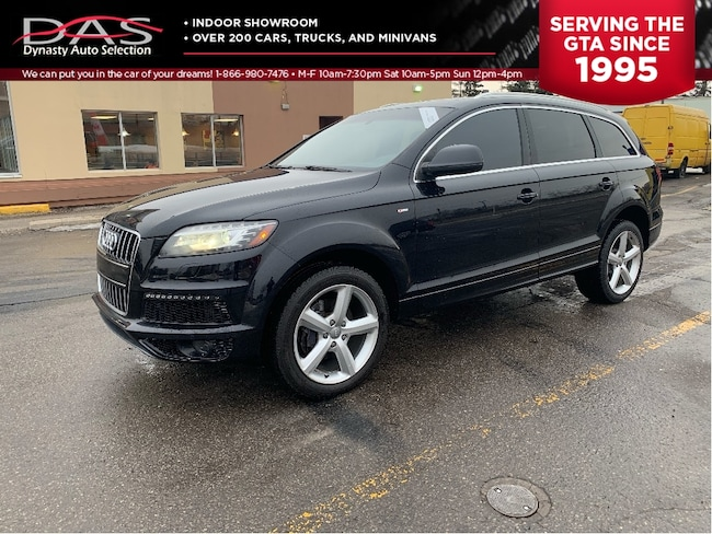 2012 Audi Q7 3.0 TDI S LINE NAVIGATION PANORAMIC ROOF/7 PASS SUV