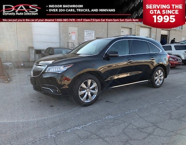 2014 Acura MDX Elite Package NAVIGATION/LANE DEPARTURE/DVD SUV