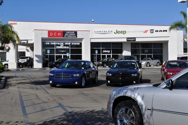 Dch Honda Temecula >> About our Temecula Chrysler Dodge RAM & Jeep Dealership ...