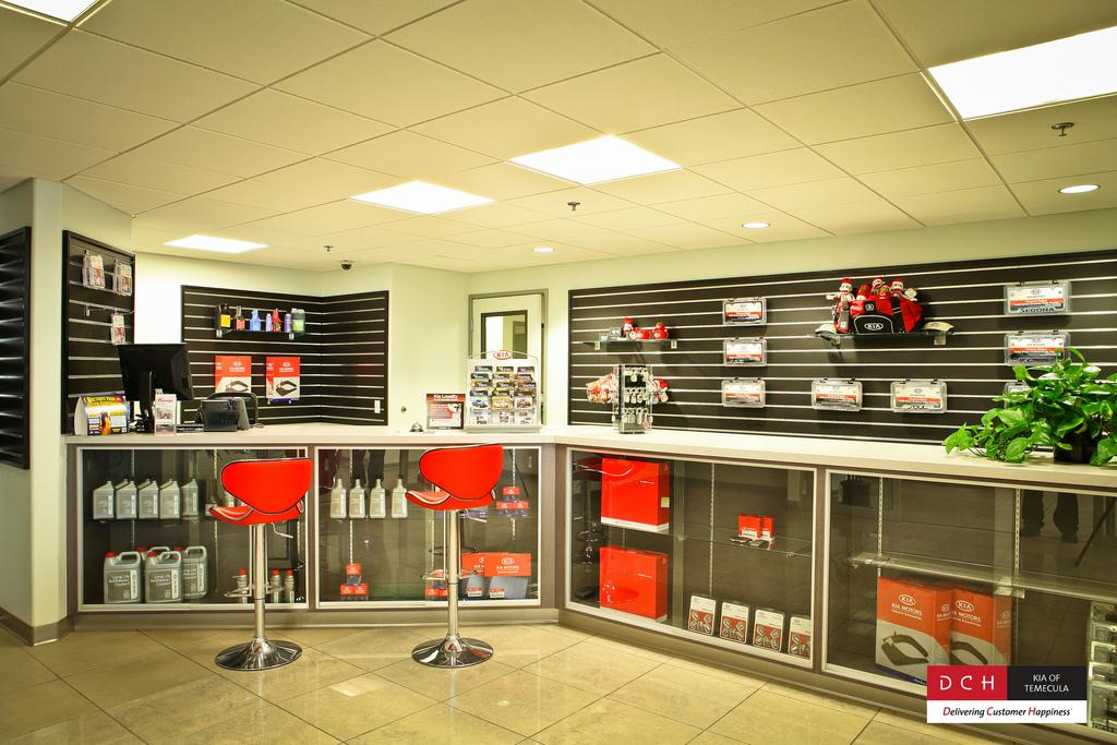 Kia Parts and Accessories at DCH Kia of Temecula