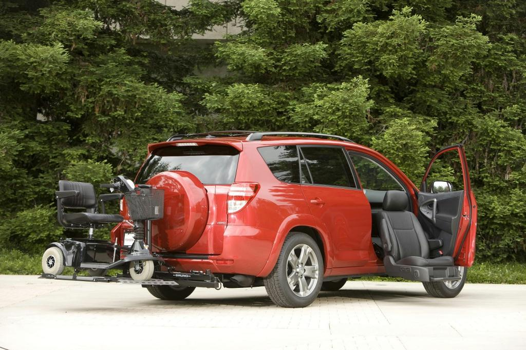 Toyota RAV4 with Mobility Access