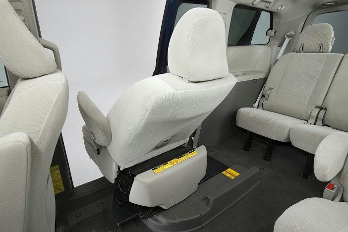 Toyota Sienna Minivan with Mobility Access Seat 2